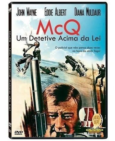 mcq - um detetive acima da lei - dvd - john wayne - novo
