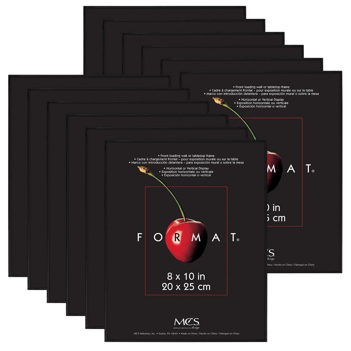 Mcs 8x10 Pulgadas Formato De Trama 12-pack, Negro (65553 ...