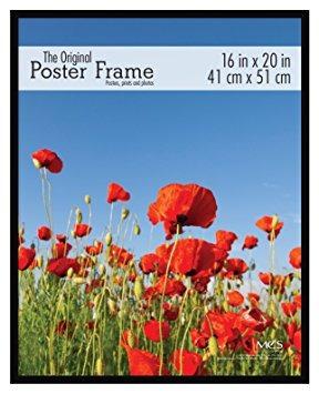 mcs marco para póster original con respaldo de cartón prensa