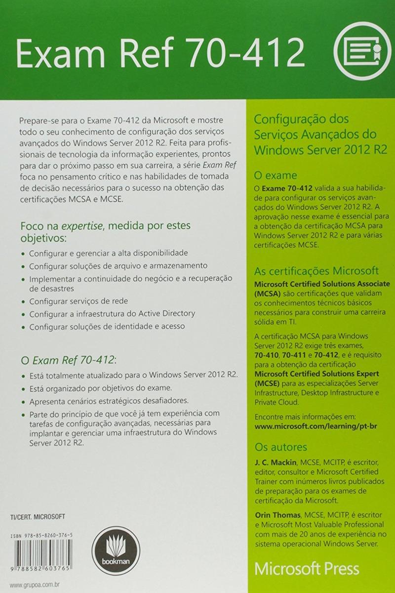 Ebook Exam Ref 70-412