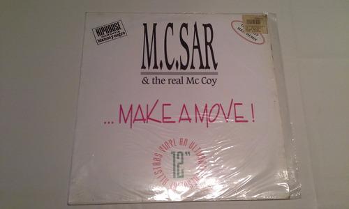 m.c.sar & the real mc coy  make a move maxi vinilo