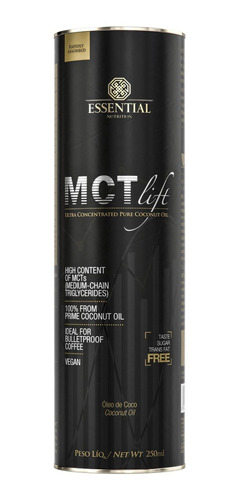 mct lift (250ml) essential nutrition