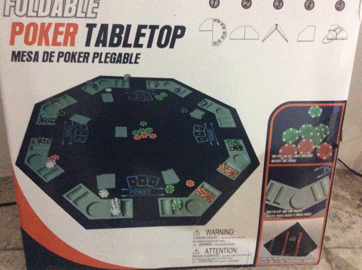 Tablero Sports Incluido Md Poker Con Accesorios Plegable De yPvmNw8n0O