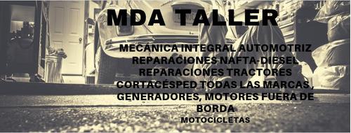 mda taller, mecánica automotriz
