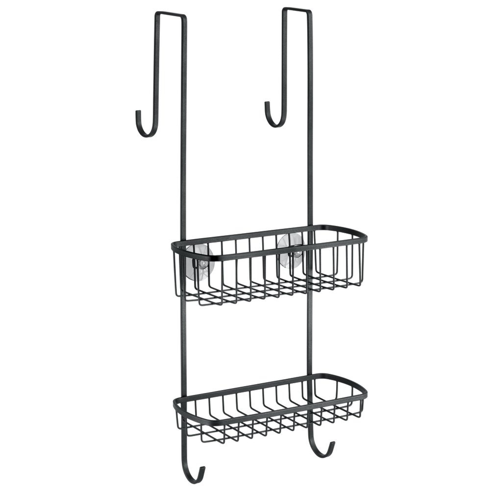 Mdesign Bathroom Over Shower Door Caddy For Shampoo Con