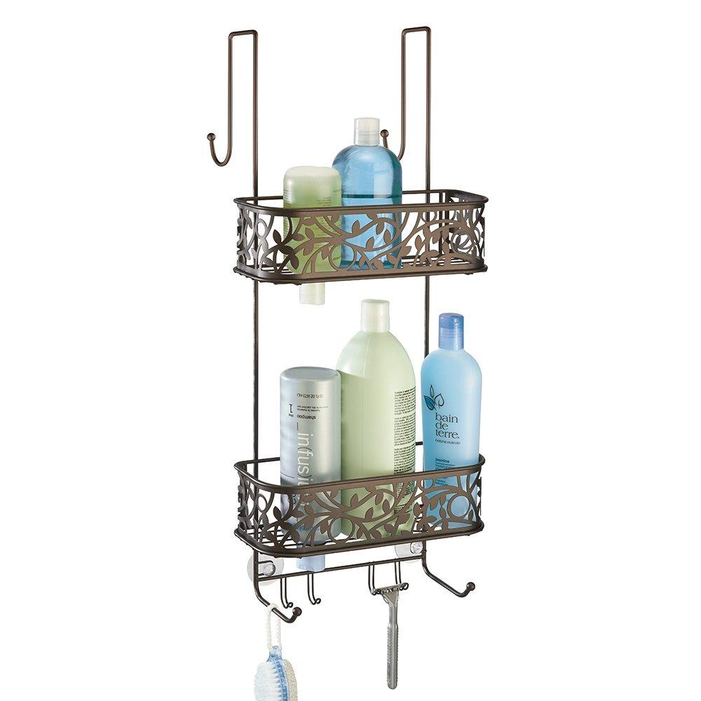 Mdesign Bathroom Over Shower Door Caddy Para Shampoo Co ...