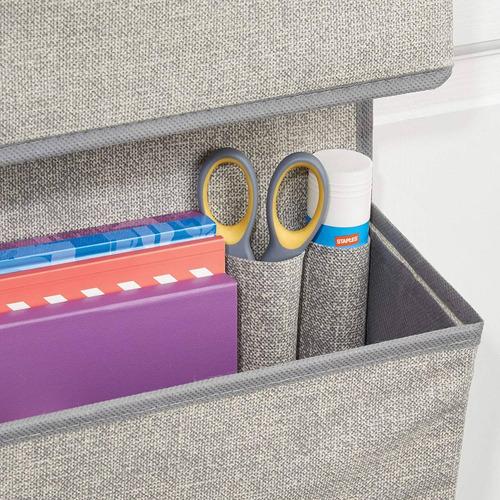mdesign encima the door tejido suministros de oficina organi