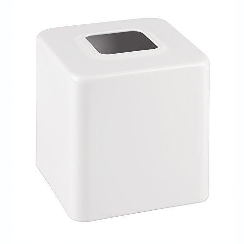 mdesign facial tissue caja cubierta / soporte para bañ u3