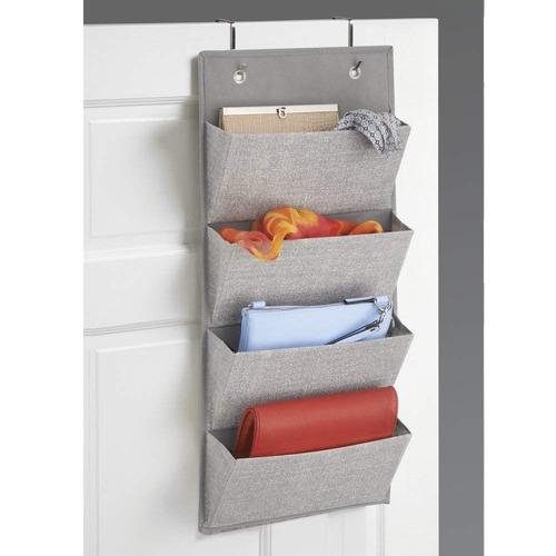 mdesign organizador almacenamiento armario de tejido para mo