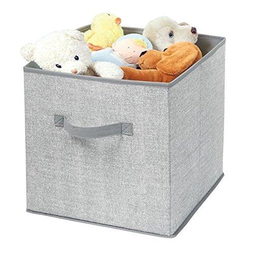 mdesign tela baby nursery closet organizador de almacenamien