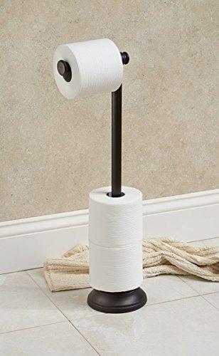 mdesign titular rollo de papel inodoro de pie libre tradicio
