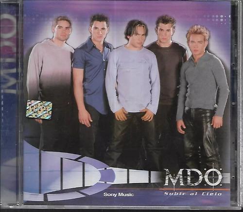 mdo  subir al cielo  sello sony music cd nuevo año 2000