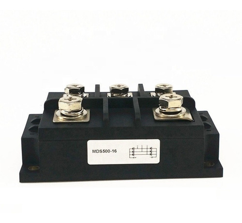 mds500a mds diodo ponte retificadora trifásica 500a 1600v