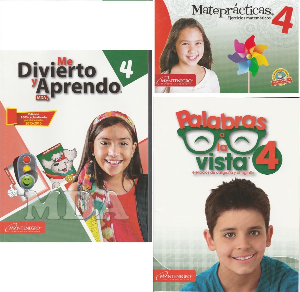 Me Divierto Y Aprendo 2016 Paq Plus 1ro-6to (8 Pzs D Apoyo