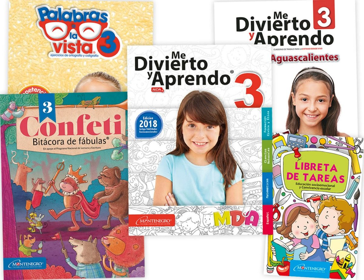Me Divierto Y Aprendo 3° Edición 2018-2019 Paquete B - $ 285.00 en ...