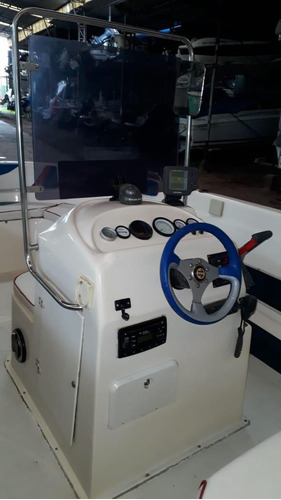 me marine alex 650 tipo tracker con motor yamaha 90hp!