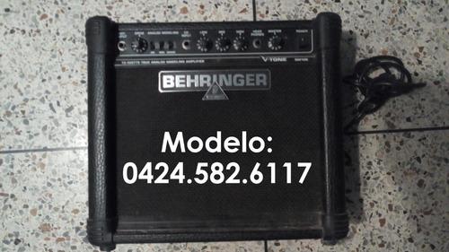 me voy del país- bajo costo!! amplificador behringer vtone