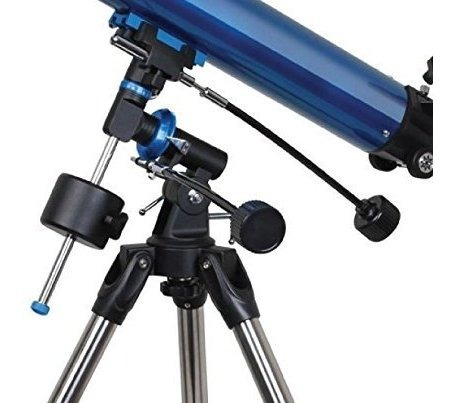 meade instruments 216002 polaris 80 eq refractor telescope b