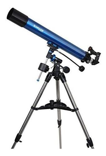 meade instruments 216002 polaris 80 eq refractor telescope b