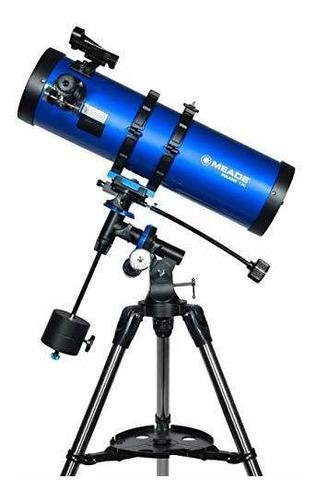 meade instruments 216006 polaris 130 eq telescopio reflector