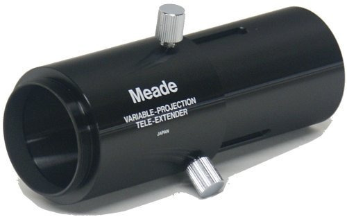 meade instruments variable projection tele-extender for lx m