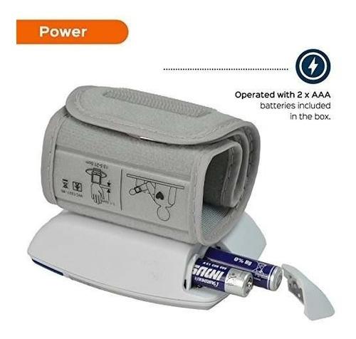 measupro automático muñeca presión arterial monitor portátil