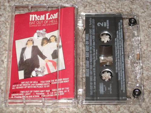 meat loaf cassette bat out of hell cassette