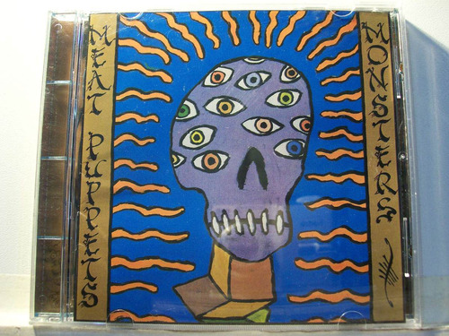 meat puppets, monsters, 2000, cd original raro