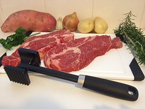meat tenderizer by checkered chef. best hammer/mallet tool/