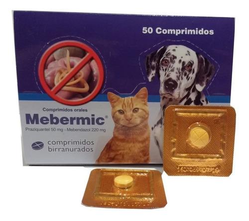mebermic pastilla antiparasitaria interna 10 kgs pethome