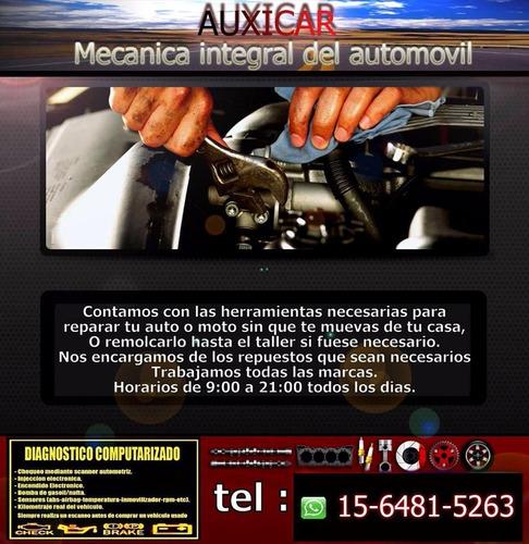 mecanica a domicilio de autos y motos o taller // escaneos