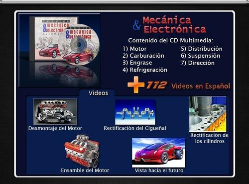 mecánica automotriz + regalo curso de mecánica en videos