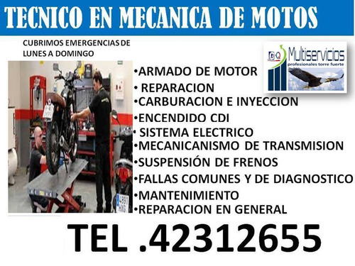 mecánica de motos a domicilio las 24 horas