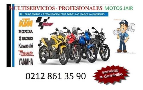 mecánica de motos de alta cilindrada a domicilio