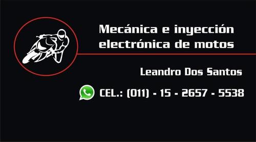mecanica e inyección electrónica de motos leandro dos santos