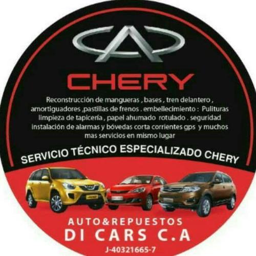 mecanica especializada chery todos los modelos