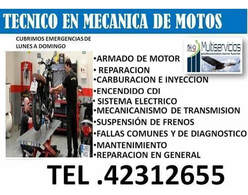 mecánica express para motos a domicilio