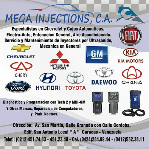mecánica general especialista en chevrolet y otras marcas