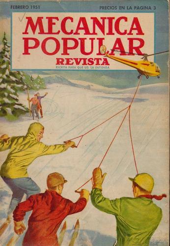 mecanica popular - 02/1951 - vol. 8 - n°02