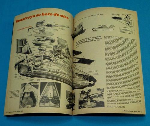 mecánica popular 1976 relojes electrónica avioneta piscina