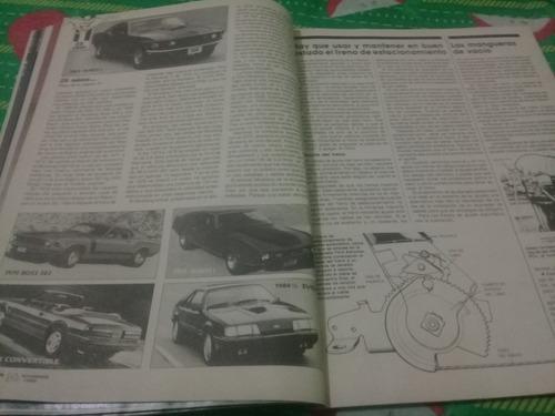 mecánica popular 1989 reportaje mustang 25 aniversario