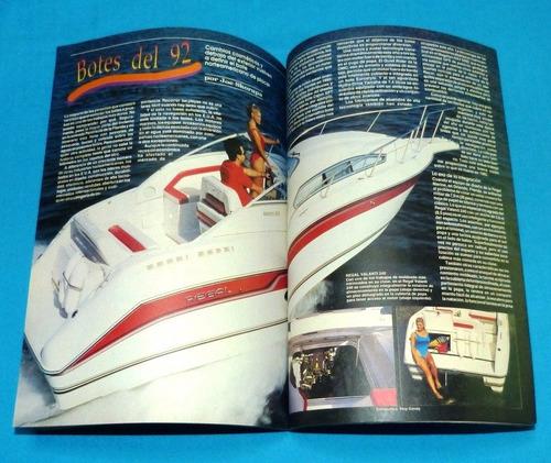mecánica popular 1992 esquí atletas botes electrónica autos