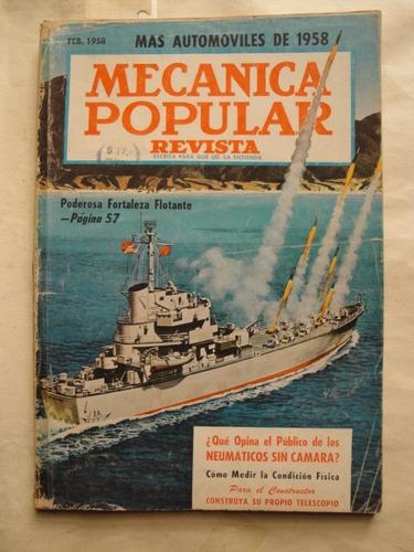 mecanica popular buque cohetes studebaker pontiac cadillac