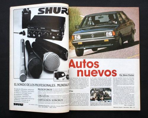 mecánica popular revista