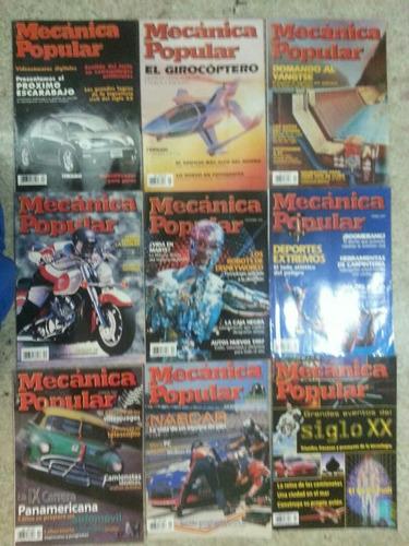mecánica popular revistas son 36 revistas, colección, talle
