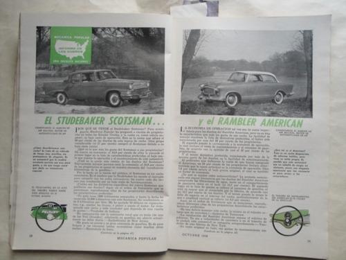 mecanica popular studebaker scotsman rambler american
