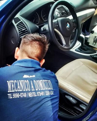 mecánico a domicilio-taller movil-escaneo autos motos