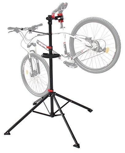 mecánico de reparación de bicicletas stand de bicicleta sta