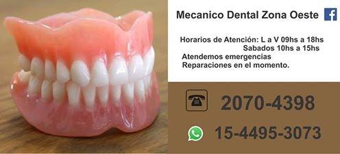 mecanico dental / protesis dentales/ flexible / reparaciones