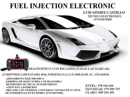 mecánico electronico automotriz (a domicilio)/ promo agosto